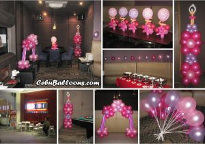 18th Birthday Table Decoration Ideas Debut Cebu Balloons And Party Supplies
