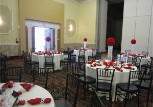 18th Birthday Table Decorations Party With Red Rose Ball Crystal