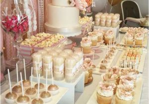 18th Birthday Table Decorations Pink And Gold Party Ideas In 2018