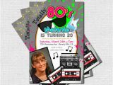 1980s Birthday Party Invitations 25 Best Ideas About 1980s Party Invitations On Pinterest