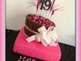 19th Birthday Decorations Fun 19th Birthday Cake Kit Kit Cake Fancy Treats