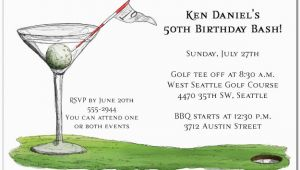 19th Birthday Invitations 19th Hole Martini Party Invitations Golf Invitations