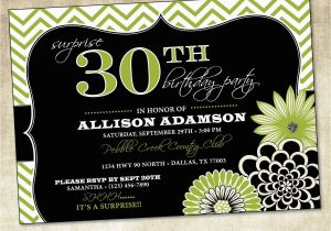 19th Birthday Invitations Birthday Party Invitation 20th 25th 30th 40th 50th