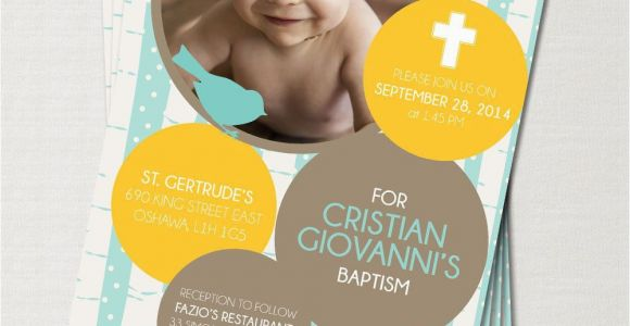 1st Birthday and Baptism Combined Invitations 1st Birthday Baptism Invitations 1st Birthday and