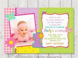 1st Birthday butterfly Invitations butterfly 1st Birthday Invitation Diy Custom by