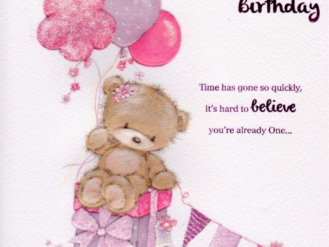Download By SizeHandphone Tablet Desktop Original Size Back To 1st Birthday Cards For Granddaughter