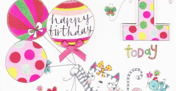 1st Birthday Cards For Granddaughter Happy To My Images