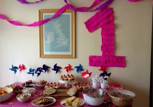 1st Birthday Decorations Cheap Fresh First Decoration Ideas At Home For Girl