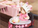 1st Birthday Decorations for Girls Nat Your Average Girl 1st Birthday Party Decor