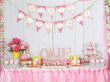 1st Birthday Girl Decorating Ideas Fresh First Birthday Decoration Ideas at Home for Girl