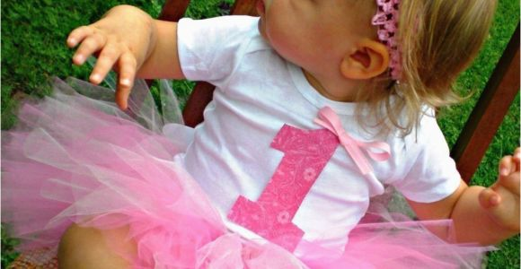 1st Birthday Girl Outfits Tutu Baby Girl First Birthday Tutu Outfit with Headband and Flower
