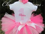 1st Birthday Girl Outfits Tutu First Birthday Outfit Girl Cake Smash Outfit Girl First