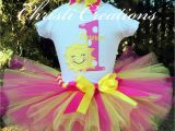 1st Birthday Girl Outfits Tutu You are My Sunshine Birthday Outfit Baby Girl Tutu 1st