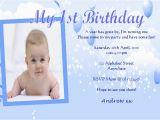 1st Birthday Invitation Card for Baby Boy Online Personalised Birthday Photo Invitations Boy Design 8