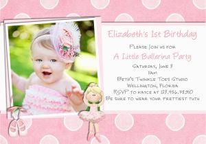 1st Birthday Invitation Card Maker Online Free Best 10 Design Cards Party