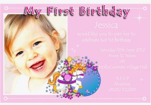 1st Birthday Invitation Card Maker Online Free Beautiful
