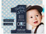 1st Birthday Invitation for Boys First Birthday Party Invitation Boy Chalkboard Zazzle Com Au