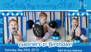 1st Birthday Invitation Ideas for A Boy Baby Boy 1st Birthday Invitations Free Printable Baby