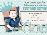 1st Birthday Invitation Ideas for A Boy Baby Boy First Birthday Invitations Free Invitation