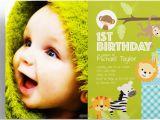 1st Birthday Invitation Maker Animated Birthday Invitation Maker Jin S Invitations