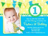 1st Birthday Invitation Maker Free Printable 1st Birthday Party Invitations Boy Template