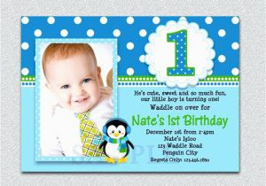 1st Birthday Invitation Maker Online Card With Photo