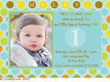 1st Birthday Invitation Message for Baby Boy 1st Birthday Invitation Quotes for Baby Boy Best Happy
