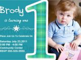 1st Birthday Invitation Message for Baby Boy Baby Boy First Birthday Party Invitation by Ritterdesignstudio