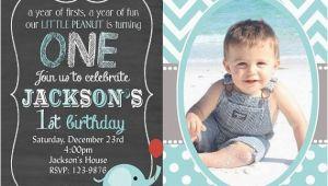1st Birthday Invitation Message for Baby Boy Photo Invitations Birthday Bagvania Invitations Ideas
