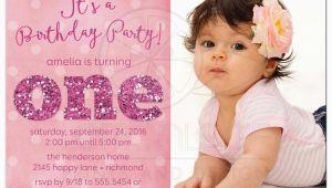 1st Birthday Invitation Message for Baby Girl 1st Birthday and Baptism Invitations 1st Birthday and