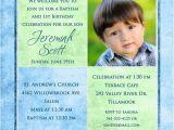 1st Birthday Invitation Message Samples 1st Birthday and Christening Baptism Invitation Sample