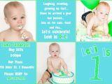 1st Birthday Invitation Templates Free Download First Birthday Invitation Free Template