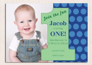 1st Birthday Invitation Wording For Baby Boy 16 Best First Invites Printable Sample