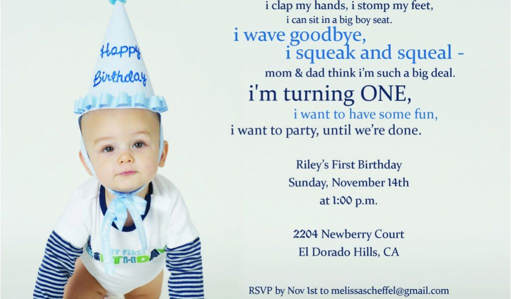 Download By SizeHandphone Tablet Desktop Original Size Back To 1st Birthday Invitation Wording For Baby Boy