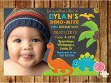1st Birthday Invitations Boy Online Free 15 Dinosaur Birthday Invitations Free Psd Vector Eps