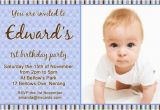 1st Birthday Invitations Boy Online Free Birthday Invitations 365greetings Com