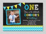 1st Birthday Invitations Boy Online Free Chalkboard Birthday Invitation Chevron Chalkboard Boys