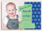 1st Birthday Invitations Boy Templates Free 16 Best First Birthday Invites Printable Sample