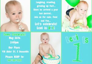 1st Birthday Invitations Boy Templates Free First Birthday Invitation Free Template