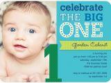 1st Birthday Invitations Boy Templates Free First Birthday Photo Invitations Bagvania Free Printable