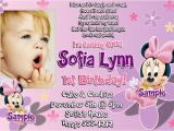 1st Birthday Invite Templates 1st Birthday Invitation Wording and Party Ideas Bagvania