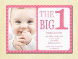 1st Birthday Invite Templates Baby First Birthday Invitations Bagvania Free Printable