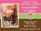 1st Birthday Monkey Invitations Printable Birthday Invitations Girls Mod Monkey 1st Party
