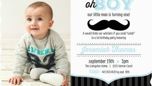 1st Birthday Mustache Invitations First Birthday Photo Ideas 5 Fabulous First Birthday