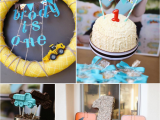 1st Birthday Party Decorations for Boys Construction Trucks Kara 39 S Party Ideas