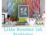 1st Birthday Party Decorations for Boys Hunter 39 S First Birthday Couldn 39 T Have Gone Any Better the
