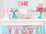 1st Birthday Party Decorations for Girls Donut First Birthday Party Connoisseurs Of Celebration