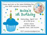 1st Birthday Party Invite Wording First Birthday Invitation Wording Bagvania Free