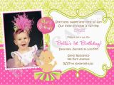 1st Birthday Party Invite Wording Quotes for 1st Birthday Invitations Quotesgram
