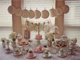 1st Birthday Party Table Decorations Arden 39 S Tea Party 1st Birthday Project Nursery